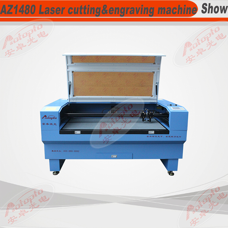 AZ-D Series one head/double heads laser cutting&engraving machine