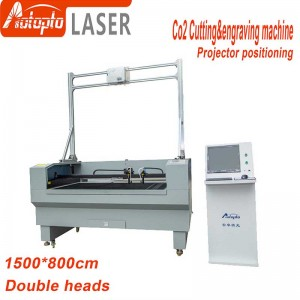 projector positioning cutting machine