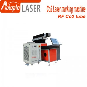 Co2 metal tube  laser marking machine  50w 100w co2 laser marking machines Co2 Rf Metal Tube